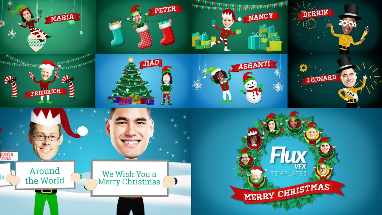 Christmas elves greetings after effects template youtube youtube premium m4hsunfo