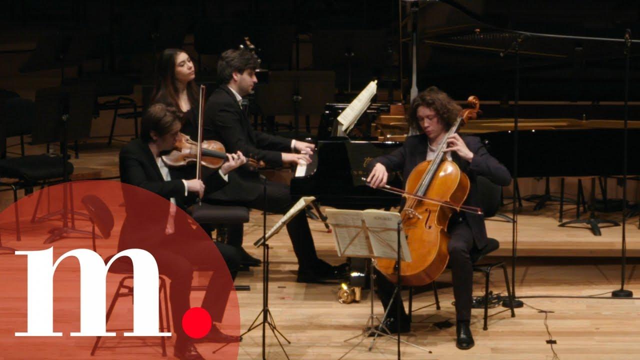 The Messiaen Trio performs Schubert's Trio No. 2 in E-flat Major, D. 929