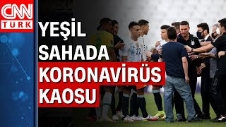 Arjantin-Brezilya maçında tarihi olay! 4 futbolcu sınır dışı edilmek istendi