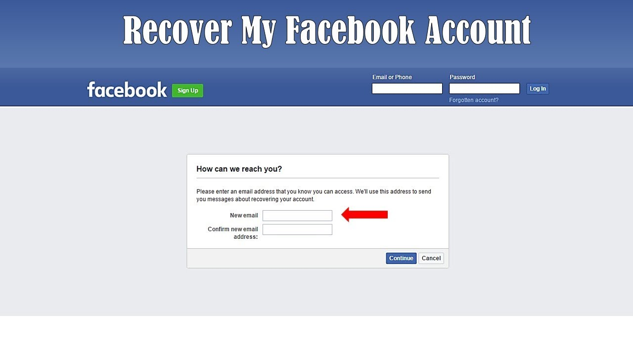 How to Recover Facebook Password Without Email and Phone Number 100%  Working 2019 | Latest Tips