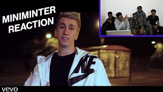 REACTING TO MINIMINTER 'KSI'S LITTLE BROTHER' - DEJI DISS TRACK
