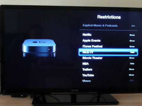 How to hide app icons on Apple TV