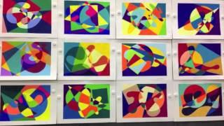 2016 KDS  夏期デザイン講座「色彩構成コース」後期