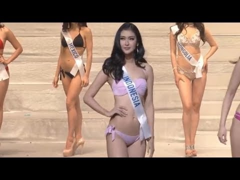 MISS INTERNATIONAL 2017 SWIMSUIT COMPETITION CANDIDATES BETTER THAN MISS UNIVERSE