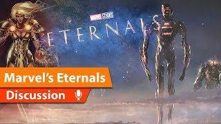 Marvels Eternals Reveals Cast & Celestials