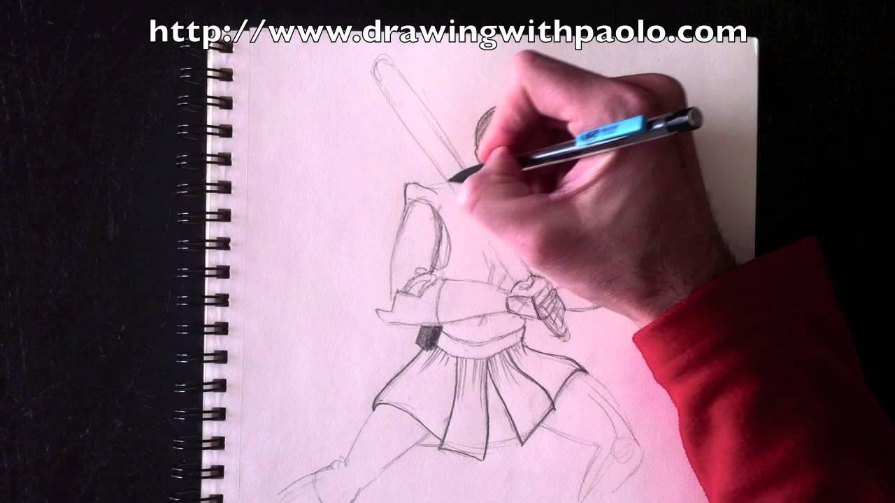 Dessiner Obi Wan Avec Paolo Morrone Youtube