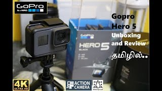 Gopro hero 5 unboxing and review in tamil
