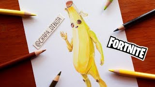 As a PEELY Drawing by FORTNITE Skin Banana ? Drawing Fortnite Skin Peely