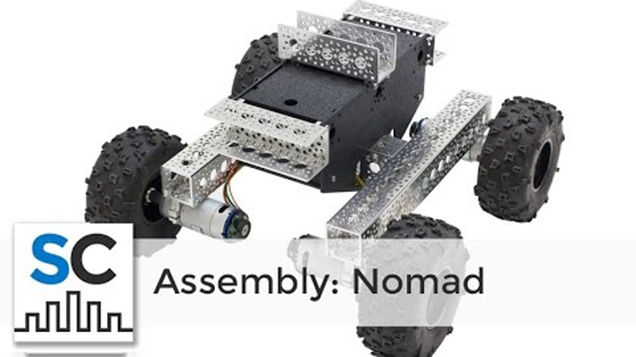 Nomad 4WD Off-Road Chassis Assembly (Full Instructions)