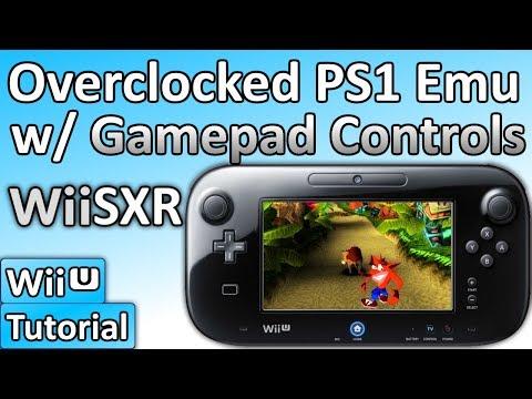 How to Soft-mod WiiU: Pt 12 - Install an Overclocked PS1