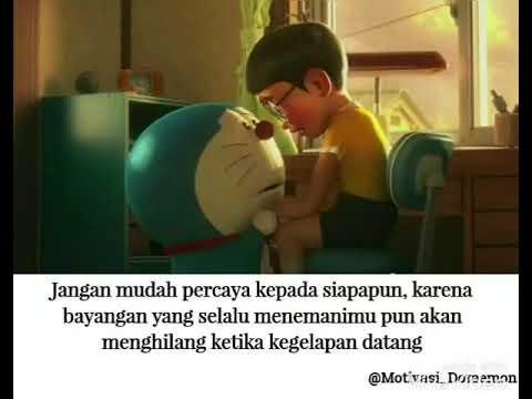 Kata Kata Baper Whatsapp Jangan Mudah Percaya Dengan Siapa Pun Kata Kata Doraemon Nobita Youtube