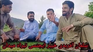 Rj Salman Afridi in Tirah Maidan Khyber Agency Pashto Funny Video