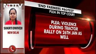 Plea In Supreme Court For Case To Remove Protesting Farmers From Delhi Borders