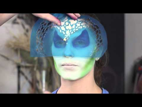 Airbrush Face Painting