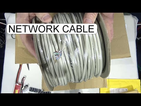 UNBOXING D.I.Y.  NETWORK CABLE KIT