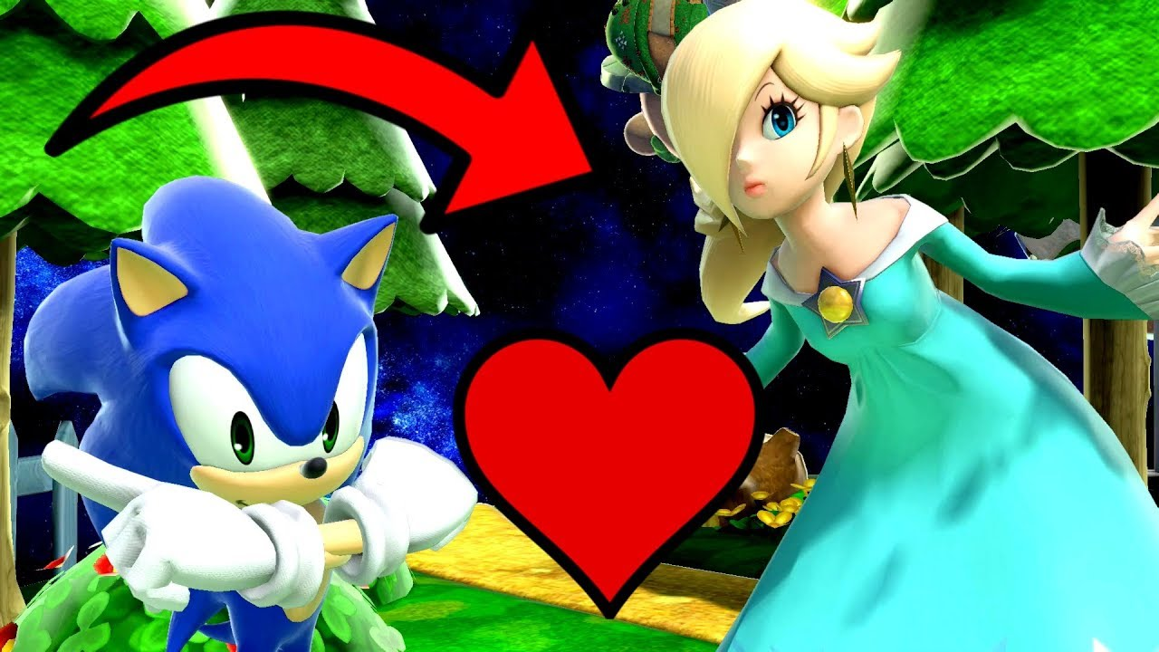 Sonic The Hedgehog Gets A Girlfriend Super Smash Bros Ultimate Movies Youtube