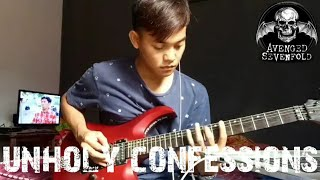 avenged sevenfold - unholy confessions (Guitar Cover) Abraham Idut