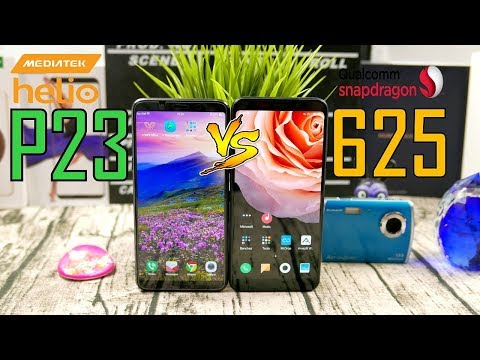 Helio P23 vs Snapdragon 625 Gaming and Battery Life Comparison