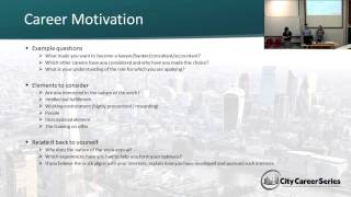 Answering Application & Interview Questions: Career Motivation Questions