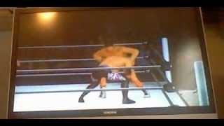 wwe 12 ppv sims No Way Out wii Christian vs Cody Rhodes IC Championship pt 1