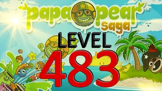 Papa Pear Saga Level 483 No Boosters