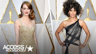 Oscars 2017 Fashion Roundup: From Emma Stone To Halle Berry! | Access Hollywood