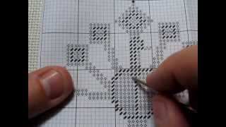 Part 5 - Away Waste Knots And Right Handed Cross Stitch