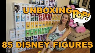 unboxing 85 funko disney pops vaulted exclusives limited htf