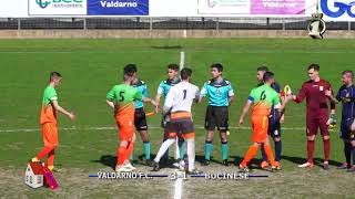 Eccellenza Girone B Valdarno-Bucinese 3-1