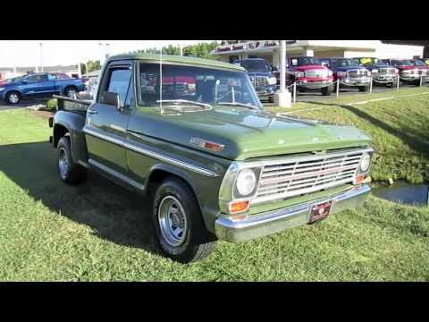 1969 Ford F100 Start Up Exhaust And In Depth Tour YouTube