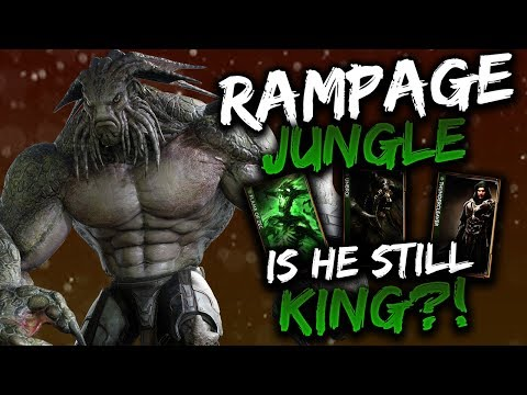 Paragon Rampage Gameplay - STILL KING OF THE JUNGLE?!