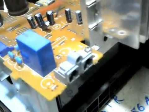 dicas de defeitos do som sony  modelo hcd-gt222 de 300w em rms