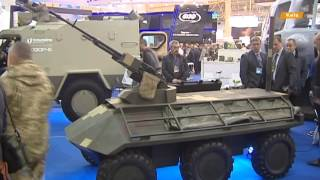 Международная выставка с новинками обороны, авиации и защиты в Киеве