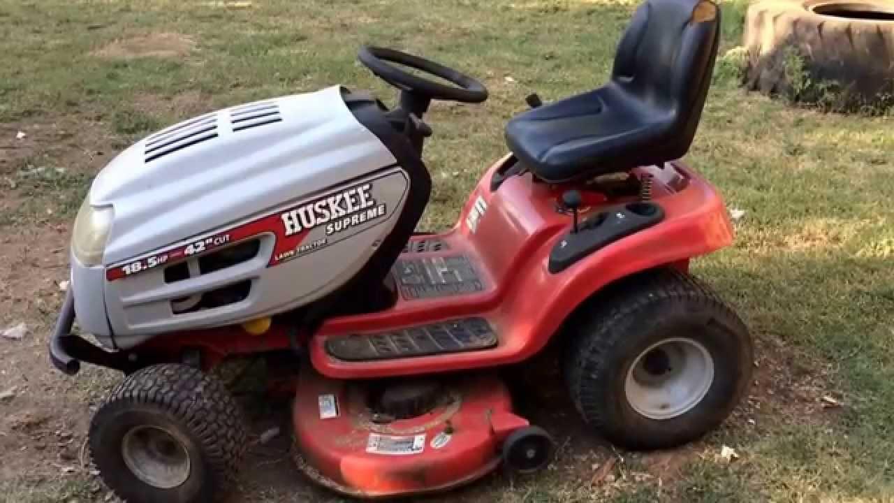 Huskee Supreme Lawn Tractor Belt Diagram