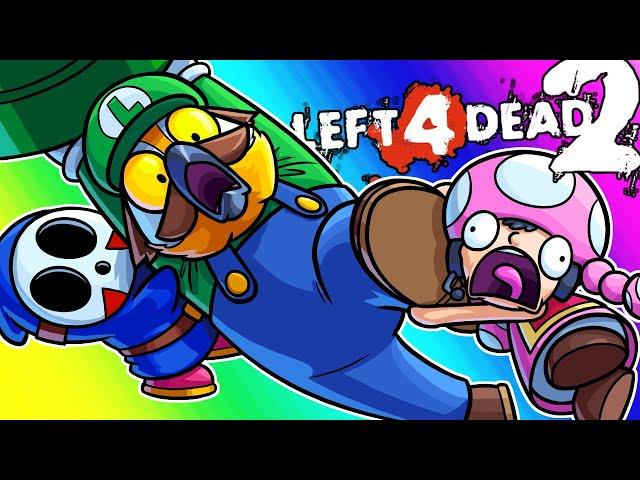 Left 4 Dead 2 Funny Moments - The Mushroom Kingdom is Doomed