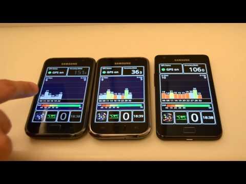 Samsung Galaxy S Plus vs. Samsung Galaxy S - Teil 2: GPS & Browser - androidnext.de