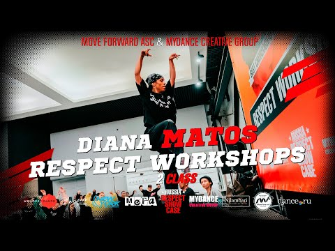 DIANA MATOS (class 2) | RUSSIA RESPECT SHOWCASE 2019 [OFFICIAL 4K] ТАНЦЫ