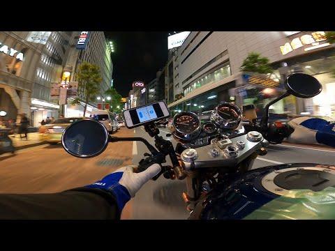 Suzuki Inazuma 400 test drive Shibuya