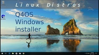 Q4OS.  The easiest way to install Linux within Windows!