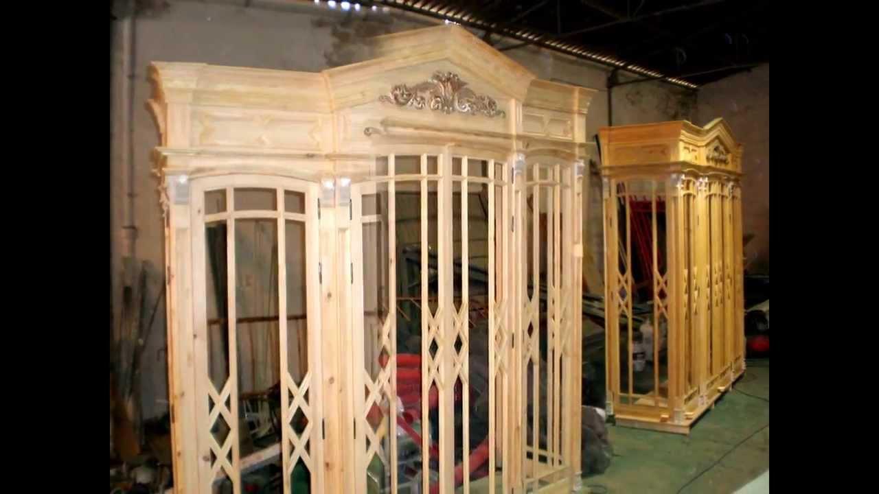 Cierros de madera para balcones del centro de m laga youtube - Balcones de madera ...