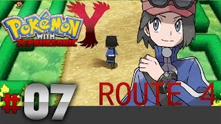 Pokemon Y Walkthrough Episode 7 - Route 4 and the Parterre Way!