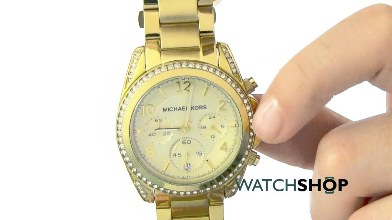 Es Kors Michael Para Oro Shop™ Mk5166 Watch BlairReloj Mujer FK1Tc3ulJ
