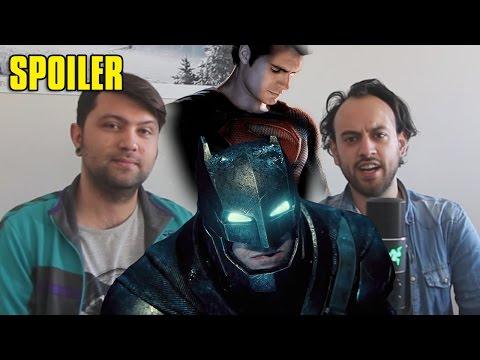 Batman V Superman - Film İnceleme (SPOILER, EASTER EGG, TEORİ, SOHBET)