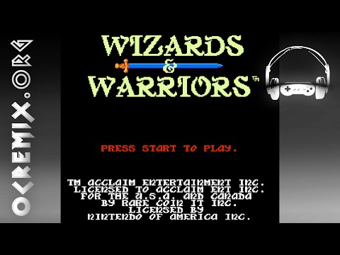 OC ReMix #1665: Wizards & Warriors 'Wizards in My Armor (Warrior in My Long Johns)' [Title]
