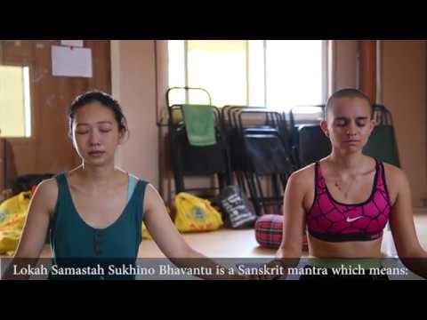 Lokah Samastah Sukhino Bhavantu - Meaning - Chant - AYM Yoga School