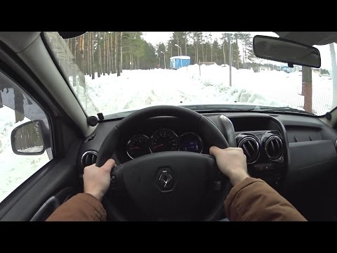 2017 Renault Duster POV Test Drive