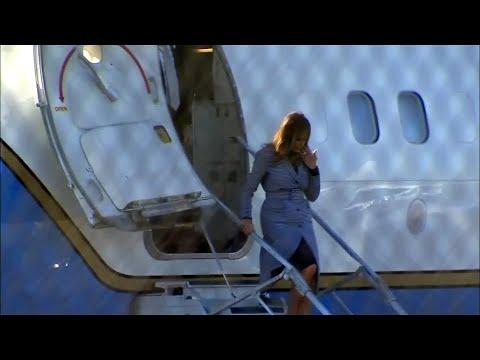 Melania Trump muss notlanden