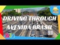 Driving through Avenida Brasil  | Driving in Rio #108