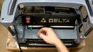 Part 8 Of 9- Delta 22-540 Planer Disassembly, Assembly And Adjustments