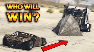 GTA 5 ONLINE : RAMP BUGGY VS PHANTOM WEDGE (WHO WILL WIN?)